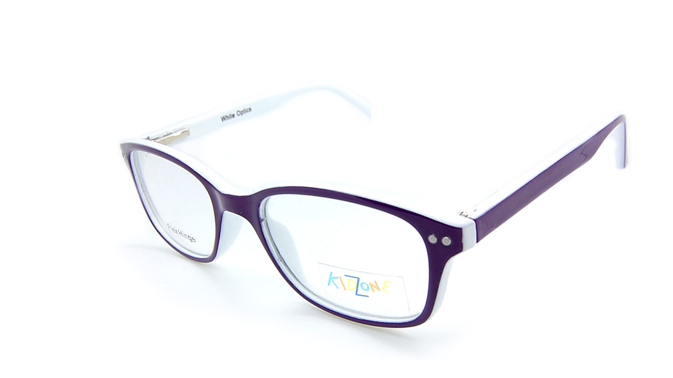 Kidzone 104 - White (2-Purple/White)