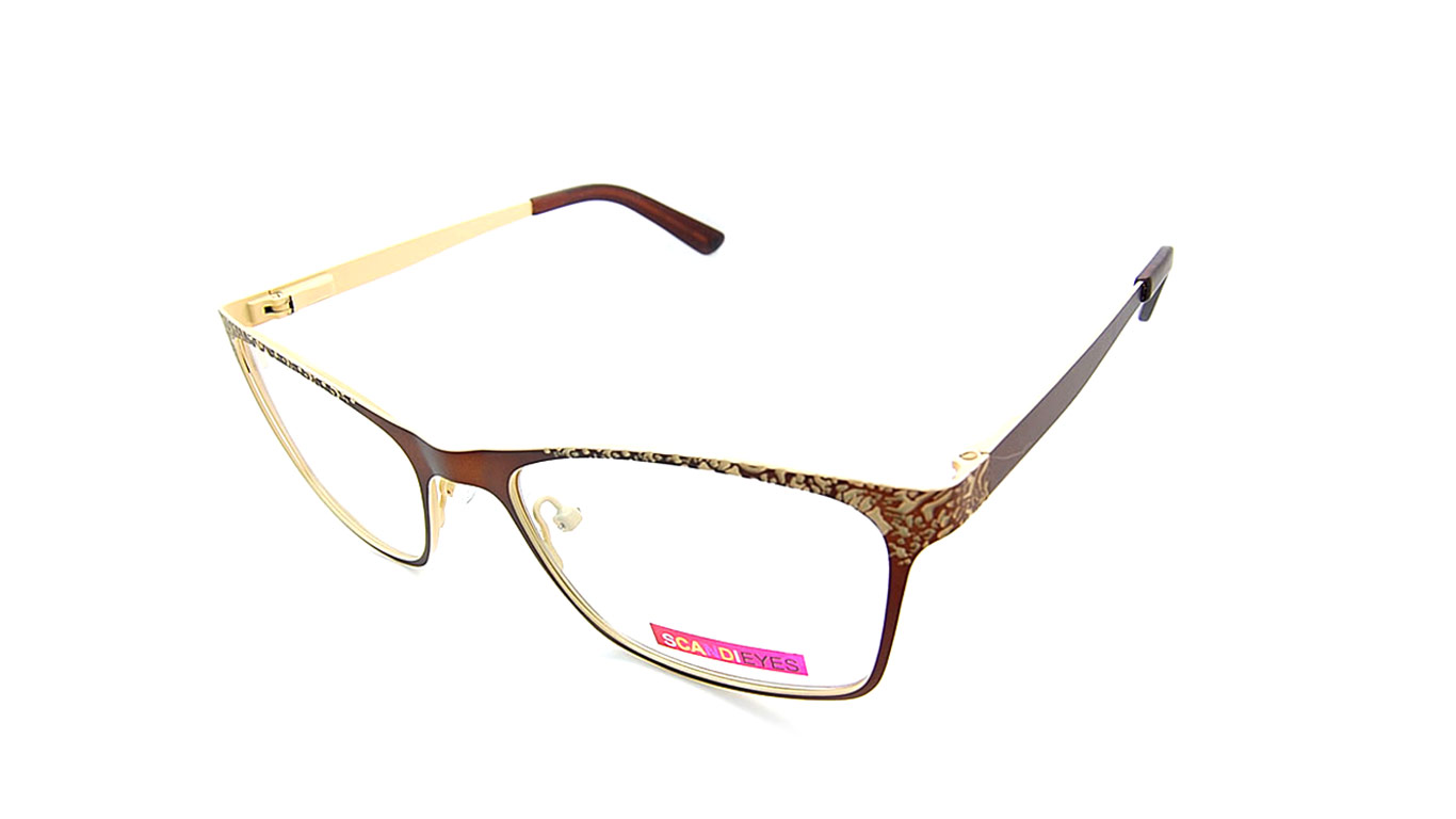 Scandieyes 70 - Brown (2-Brown/Cream)