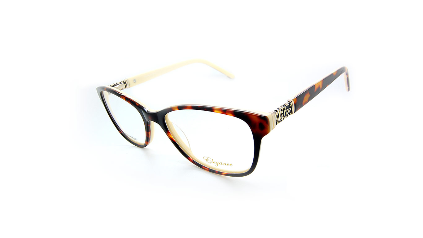 Elegance 2043 - Tortoise (3-Light Tort/cream)
