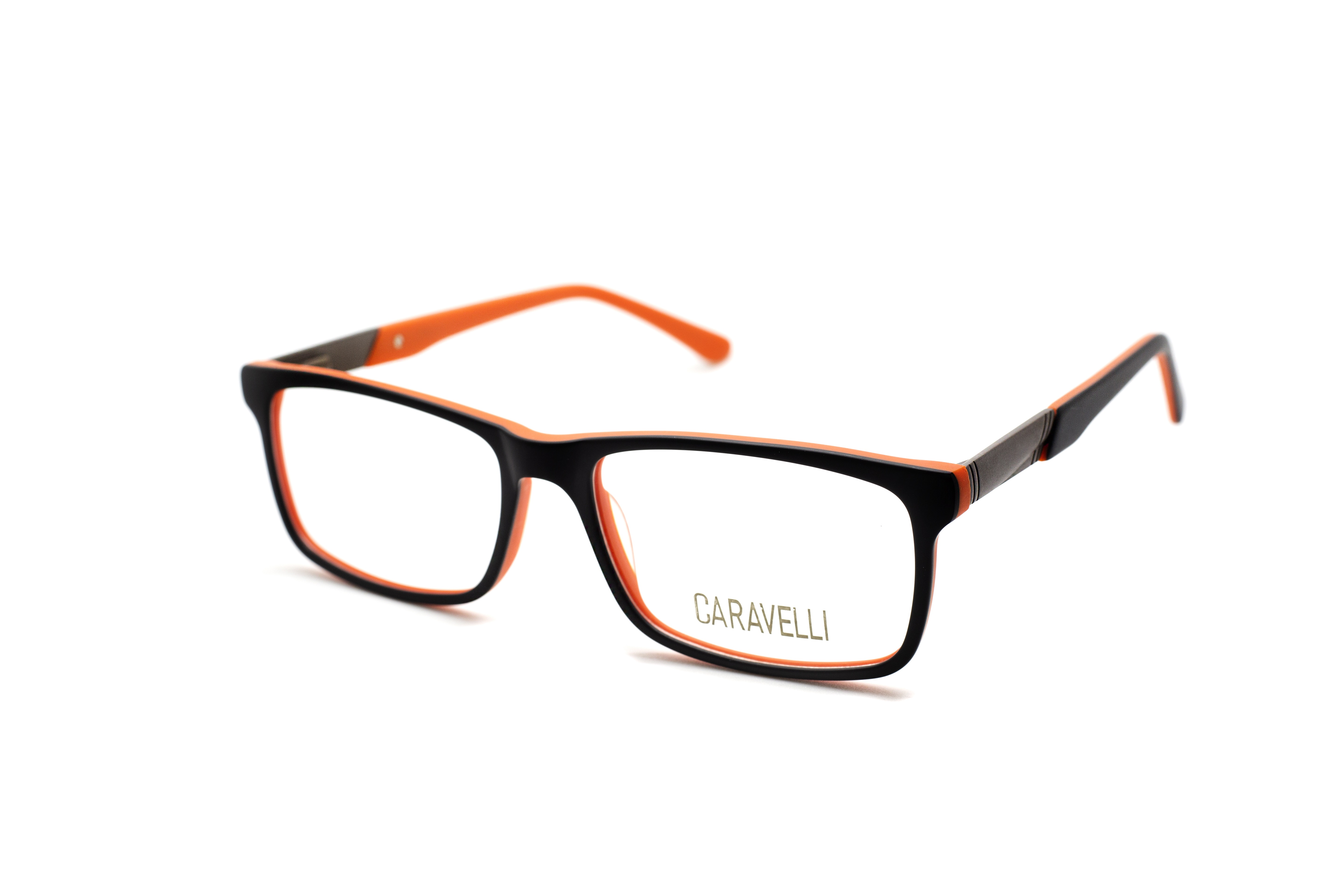 Caravelli 207 - Black (2 - Black/Orange)