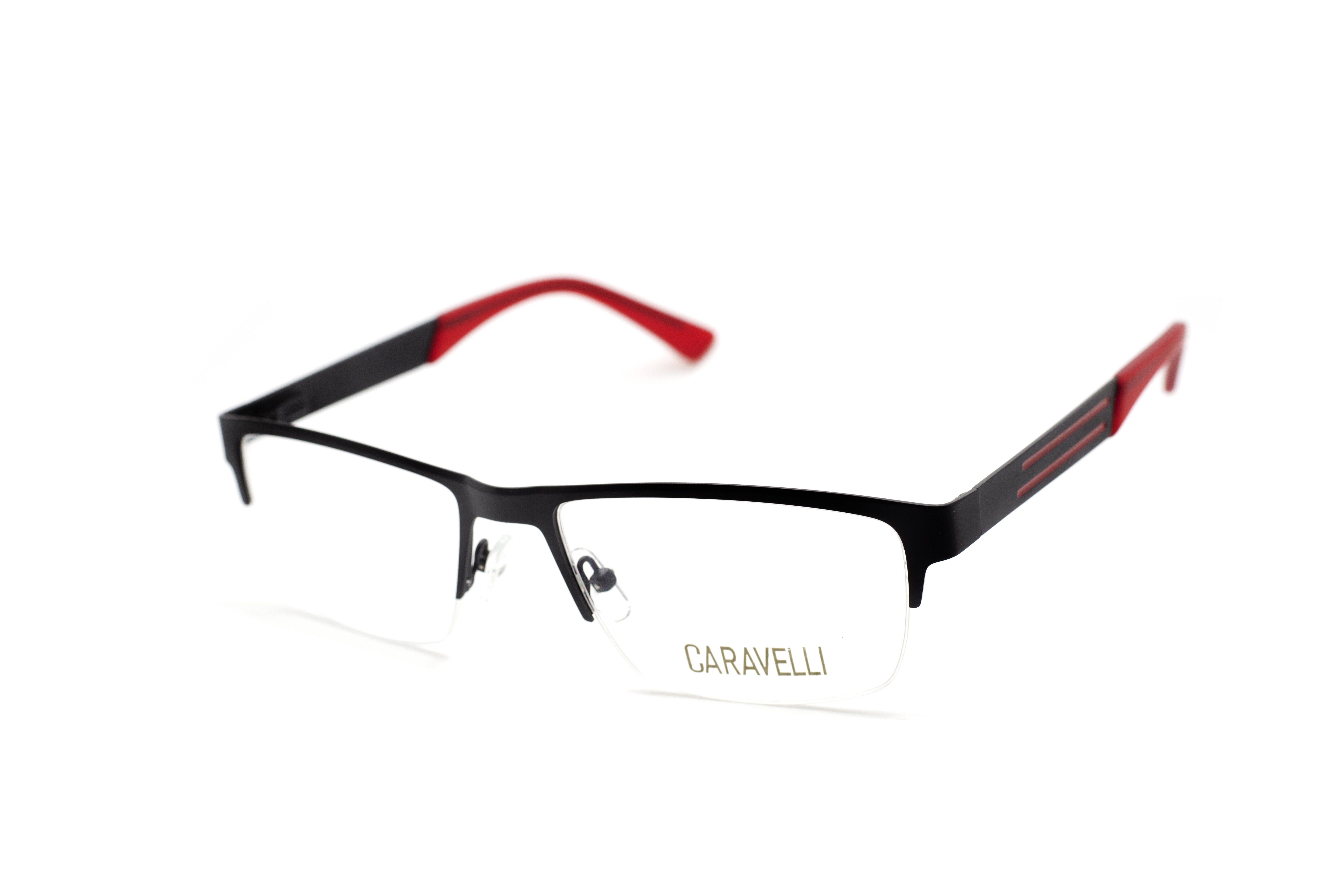 Caravelli 209 - Red (2 - MATT BLACK / RED)