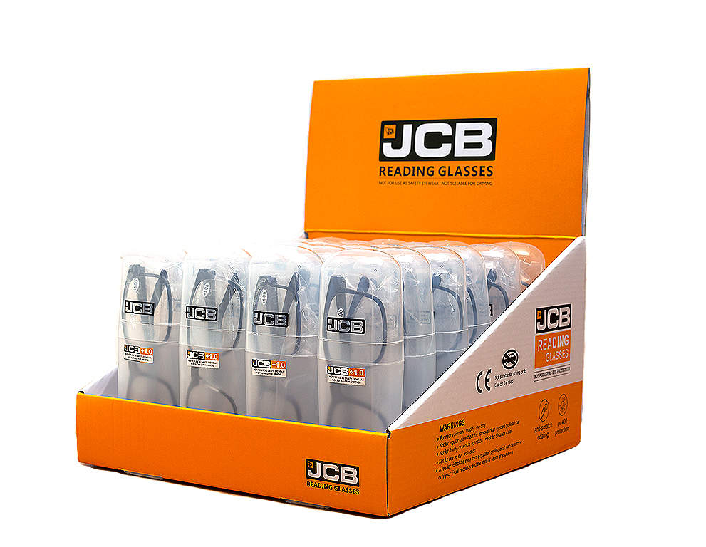 JCB READY READERS BOX - ASSORTED (ASSORTED COLOURS )